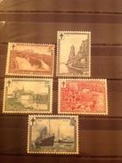 Belgium 1929 Anti T.B. Fund To 1F75 + 25c Mint SG 552-6 COB 293-7 - Belgique