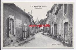 26 - Anneyron - Grande Rue - Grande Rue (attelage,enfant) - écrite - Ttb - Ed Buisson - Sonstige Gemeinden