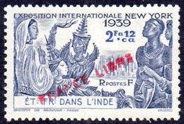 4- INDE FRANCAISE Yvert158 *   TB Coté 6.00€ - India (1892-1954)