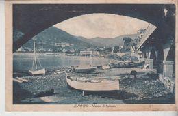 Levanto La Spezia Visione Di Spiaggia Difetto 1928 - La Spezia