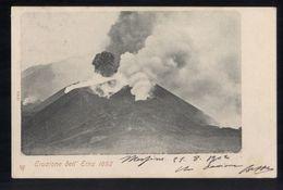 CATANIA - ERUZIONE DELL'ETNA  DEL 1892  (2) - Catania