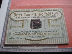 2 Catalogues  ACCORDEON ARMONICHE CAIRDIN Accordion  - Meinel & Herold Klingnthal - PIETRO FORTE Paolo Soprani & Figli - Strumenti Musicali