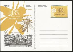 J) 2016 CROATIA, MAXIMUM CARD, BEES, 135 ANNIVERSARY OF THE CROATIAN PASTA CASTLE - Croatia