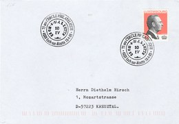 1999 LUXEMBOURG CERCLE PHILATELIQUE 75th Anniv  EVENT COVER Stamps - Covers & Documents