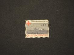 CECOSLOVACCHIA -  1964 CROCE ROSSA/UCCELLI - NUOVI(++) - Nuovi