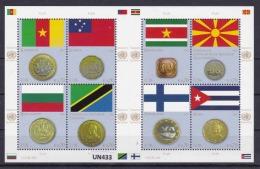 """ONU VIENNA 2012: Foglietto BF48 MNH/** """"Bandiere Degli Stati Membri Delle Nazioni Unite. 6^ Serie"""". - Blocchi & Foglietti"""