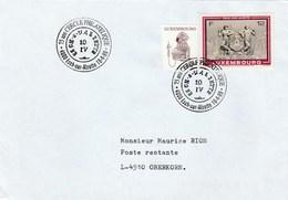 1999 LUXEMBOURG COVER Stamps TELEPHONE Esch Sur Alzette With CERCLE PHILATELIQUE EVENT Pmk Telecom - Telecom