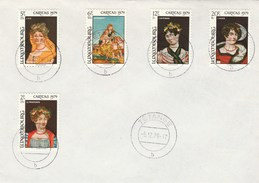 1979 Tetange LUXEMBOURG FDC CARITAS Stamps Cover - FDC