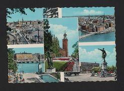 SWEDEN SEVERIGE STOCKHOLM Postcard Stamp 1960 Years Scandinavia - Postcards
