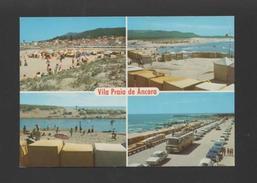 MINHO POSTCARD 1960ys VILA PRAIA DE ÂNCORA ANCORA Cars Car Buses Bus  PORTUGAL - Postcards