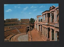 Pc 1960s MERIDA ROMAN THEATRE  THEATER ARCHITECTURE HISTORY SPAIN EXTREMADURA - Postcards