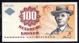 DINAMARCA 1999   100  KRONER CARL NIELSEN. PICK Nº 56    EBC  XF  .B1089 - Denmark