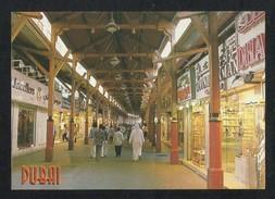 United Arab Emirates UAE Dubai Picture Postcard Gold Souk Famous Landmark Of Dubai View Card - Dubai