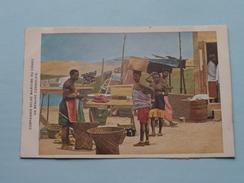 Un Ménage CONGOLAIS ( Compagnie Belge Maritime Du CONGO ) Anno 19?? ( Zie Foto Voor Details ) C.M.B. / CMB ! - Congo Belge - Autres