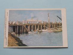 SIERRA-LEONE - LE PIER ( Compagnie Belge Maritime Du CONGO ) Anno 19?? ( Zie Foto Voor Details ) C.M.B. / CMB ! - Sierra Leone