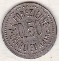 42 - LOIRE. Charlieu, La Forezienne, Coopérative Civil .0,50 Centimes - Monétaires / De Nécessité