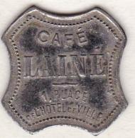 42 - LOIRE. Saint-Etienne, Café  Lainé , 15 Centimes - Monétaires / De Nécessité