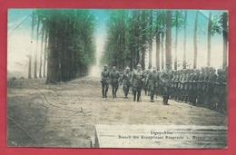 Ligny - Besuch Des Kronprinzen Rupprecht / Revue Des Troupes Par Le Kronprinz - Feldpost 1916 ( Voir Verso ) - Sombreffe