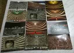 12 CART. DIVERSE: TEATRI INTERNI  (11) - 5 - 99 Cartoline