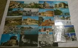 20 CART. DIVERSE: CASTELLI (13) - 5 - 99 Cartoline