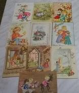 10 CART. DIVERSE: BUONA PASQUA (20) - 5 - 99 Cartoline