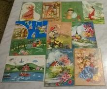 11 CART. DIVERSE: BUONA PASQUA (21) - Cartoline