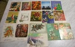 16 CART. DIVERSE: BUON NATALE (22) - Cartoline