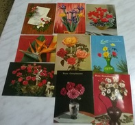9 CART. DIVERSE: AUGURALI (23) - Cartoline