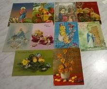 10 CART. DIVERSE: BUONA PASQUA (26) - Cartoline