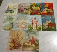 10 CART. DIVERSE: BUONA PASQUA (27) - Cartoline