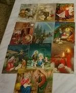 10 CART. DIVERSE: BUON NATALE  (28) - Cartoline