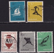 1956 Olympische Spelen Melbourne Gestempelde Serie NVPH 676 / 680 - Gebraucht