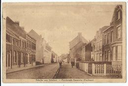 Schelle (aan Schelde) - Provinciale Steenweg (Zuidkant) 1943 - Schelle