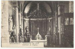 Meerhout - Binnenzicht Der Kerk - Intérieur De L'Eglise 1928 - Meerhout