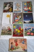 11 CART. DIVERSE: BUONA PASQUA  (34) - Cartoline