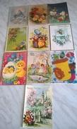 10 CART. DIVERSE: BUONA PASQUA  (35) - Cartes Postales
