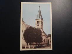 CPSM - PRUSLY SUR OURCE - L'EGLISE - Otros Municipios