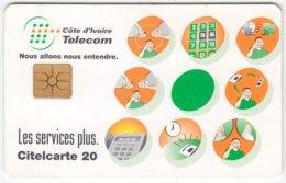 IVORY COAST A-023 Chip Telecom - Used - Ivory Coast