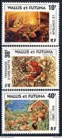 WF 1997 Serie N. 502-504 Scene Di Vita Locale MNH Cat. € 2.40 - Wallis E Futuna