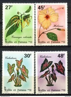 WF 1996 Serie N. 489-490, 493-494 Flora MNH Cat. € 4,45 - Wallis E Futuna