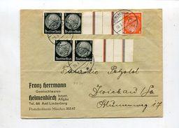 Deutsches Reich / 1937 / Zdr. Mi. KZ 24 A. Bf. O Heimenkirch (10/966) - Germany