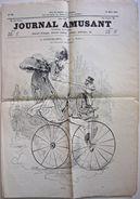 Le Journal Amusant, 1869. OFFENBACH + ALFRED GREVIN, VELOCIPEDE, OPERA, Perroquet, Velo, Longchamps, Caricatures. - Boeken, Tijdschriften, Stripverhalen