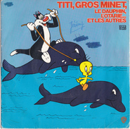 "DISQUE 45T ""TITI,GROS MINET"" - Children"