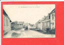 80 LE QUESNEL Cpa Animée Rue De Beaufort           14 Edit Bigorgne - France