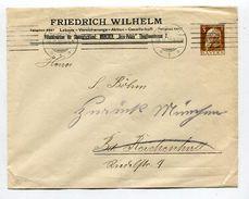 """Bayern / 1912 / GSU """"Friedrich Wilhelm Lebens-Versicherungs AG Muenchen"""" O Muenchen (10/978) - Bavaria"""