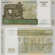 Madagascar - 200 Ariary 2014 UNC - Madagascar