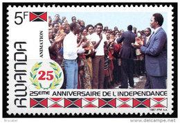 Rwanda 1300A**  Independance   MNH - Rwanda
