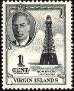 Sombrero Lighthouse, British Virgin Islands Stamp SC#102 MNH - Iles Vièrges Britanniques