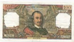 G502 - Billet De 100 Francs CORNEILLE 1973 - 1962-1997 ''Francs''