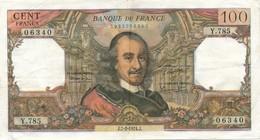 G502 - Billet De 100 Francs CORNEILLE 1974 - 1962-1997 ''Francs''